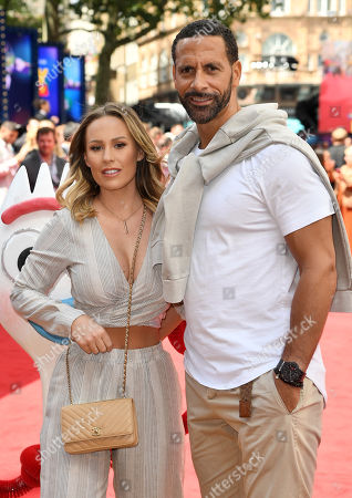 Stock Picture of Kate Wright and Rio Ferdinand