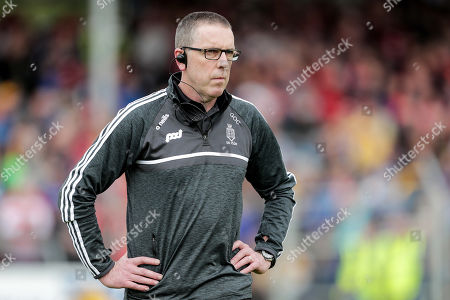 Clare vs Cork. Clare joint manager Gerry O'Connor