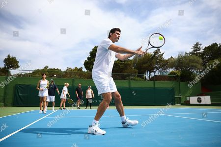 Mark Philippoussis hosts a tennis workshop