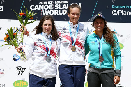 Editorial photo of ICF Canoe Slalom World Cup 2019, Day Three, Canoeing, Lee Valley White Water Centre, London, UK - 16 Jun 2019