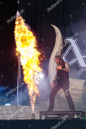 Stock Image of Amon Amarth - Ted Lundstrom