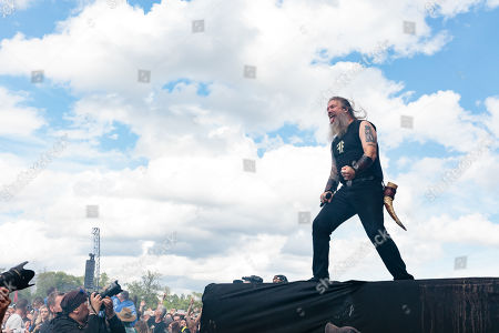 Editorial photo of Download Festival, Donington Park, Castle Donington, UK - 16 Jun 2019