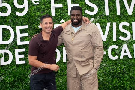 (L-R) Jay Hernandez and Stephen Hill
