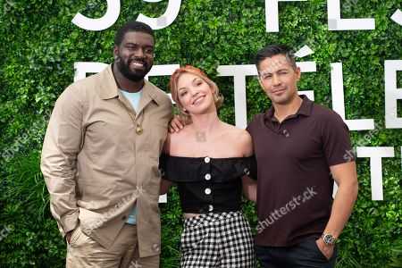 Stephen Hill, Perdita Weeks and Jay Hernandez