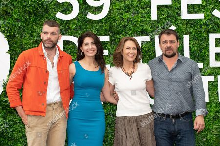 Editorial image of 'Le temps est assassin' TV show photocall, 59th Monte Carlo Television Festival, Monaco - 16 Jun 2019