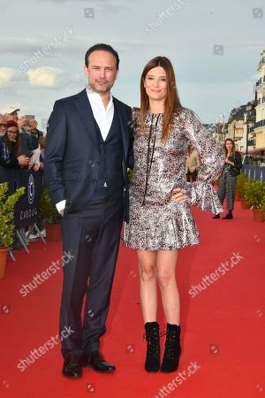 Stock Image of Vincent Perez and Alice Pol
