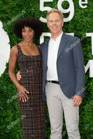 Kelly McCreary (L) and Greg Germann (R)