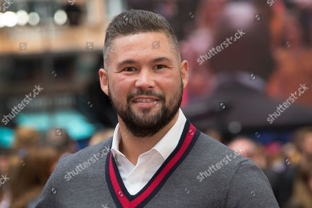 Former Boxer Tony Bellew poses for photographers upon arrival at the screening for 'Toy Story 4' in London
