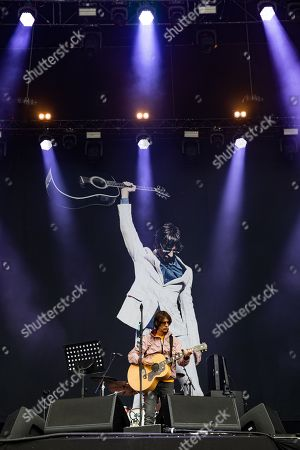 Richard Ashcroft Performing At The IOW Festival 2019