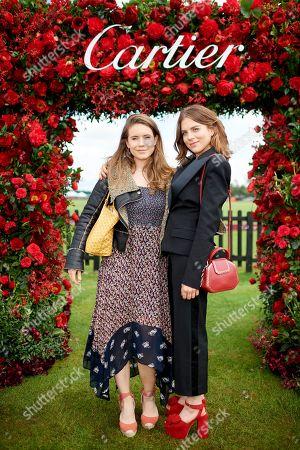 Serena Jennings and Morgane Polanski
