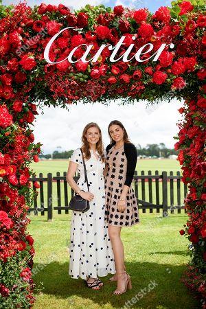 Rosie Tapner and Amber Le Bon