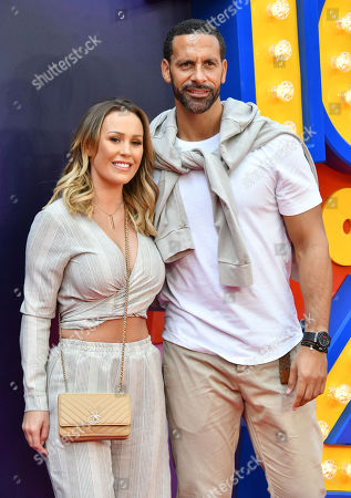 Stock Picture of Katie Wright and Rio Ferdinand