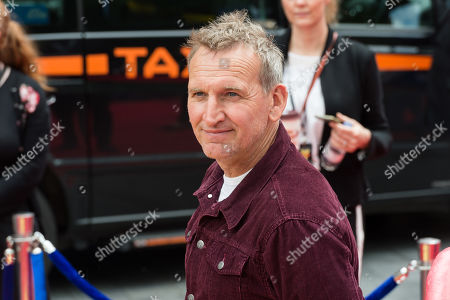 Christopher Eccleston arrives for the European film premiere of 'Toy Story 4' at Odeon Luxe, Leicester Square.