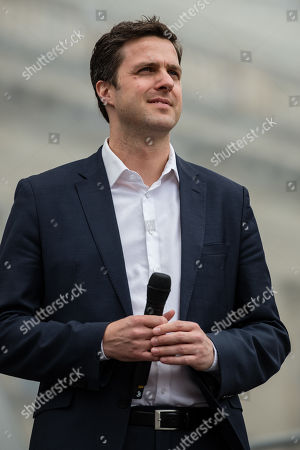 Director of the Berlin State Opera Matthias Schulz stands before the beginning a concert under the slogan 'Opera for All' on an open air stage in Berlin, Germany, 16 June 2019. For more than a decade the Staatskapelle Berlin and Daniel Barenboim have been playing an open-air concert for residents of Berlin and their guests.