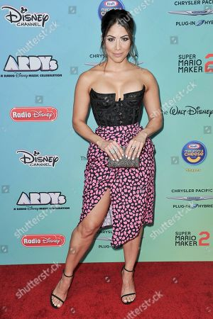 Stock Photo of Valery Ortiz attends the 2019 ARDYs at CBS Studio Center, in Los Angeles