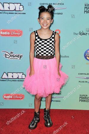 Stock Photo of Scarlett Estevez attends the 2019 ARDYs at CBS Studio Center, in Los Angeles