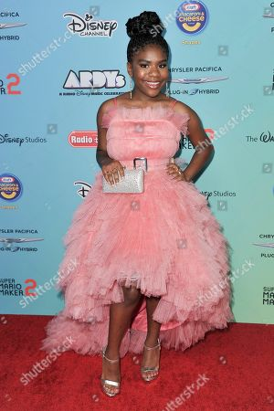 Trinitee Stokes attends the 2019 ARDYs at CBS Studio Center, in Los Angeles