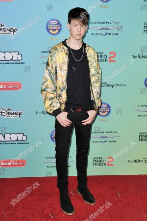 Carson Lueders attends the 2019 ARDYs at CBS Studio Center, in Los Angeles