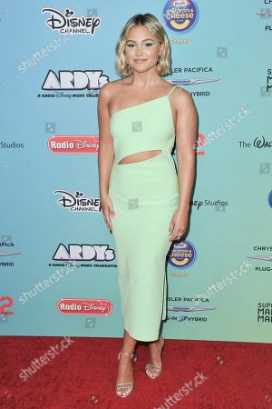 Olivia Holt attends the 2019 ARDYs at CBS Studio Center, in Los Angeles