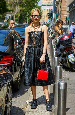 Caroline Daur out and about, Milan