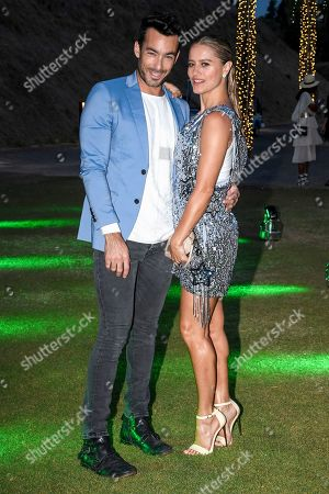 Stock Picture of Aaron Diaz and Lola Ponce