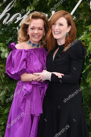 Caroline Scheufele and Julianne Moore