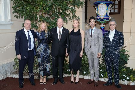 Paul Giamatti, Maria Bello, H.S.H. Prince Albert II of Monaco, H.S.H. Princess Charlene of Monaco, Ian Anthony Dale, Alan Cumming