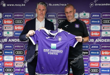 RSCA Anderlechts sports director Michael Verschueren L Editorial