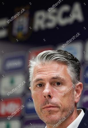 Editorial photo of New RSCA Anderlecht coach Simon Davies, Brussels, Belgium - 17 Jun 2019