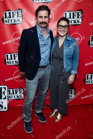 Editorial image of 'LIFE SUCKS' Opening Night, New York, USA - 16 Jun 2019