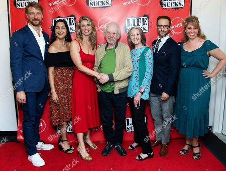 Stock Picture of Michael Schantz, Kimberly Chatterjee, Nadia Bowers, Austin Pendleton, Barbara Kingsley, Kevin Isola, Stacey Linnartz