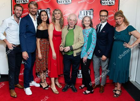 Stock Photo of Jeffrey Wise, Michael Schantz, Kimberly Chatterjee, Nadia Bowers, Austin Pendleton, Barbara Kingsley, Kevin Isola, Stacey Linnartz