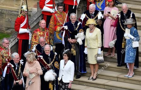 Editorial picture of Order of the Garter Service, St George's Chapel, Windsor Castle, UK - 17 Jun 2019