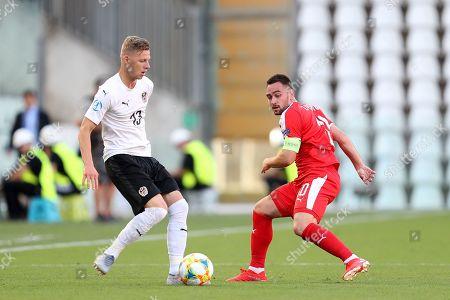 Editorial image of Serbia v Austria, 2019 UEFA European Under-21 Championship, Group B, Football, Nereo Rocco Stadium, Trieste, Italy - 17 Jun 2019