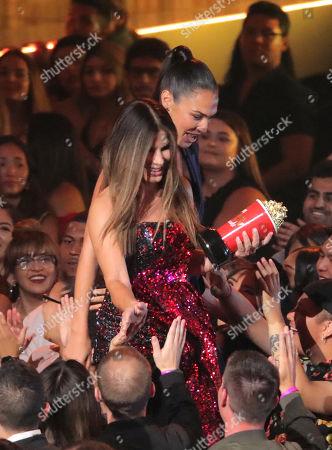 Editorial photo of MTV Movie & TV Awards, Show, Barker Hangar, Los Angeles, USA - 15 Jun 2019