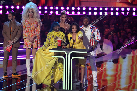 Bambi, Lil Scrappy, Spice and Karlie Redd - Reality Royalty Award - 'Love & Hip Hop Atlanta' - presented by Nick Kroll and Trixie Mattel