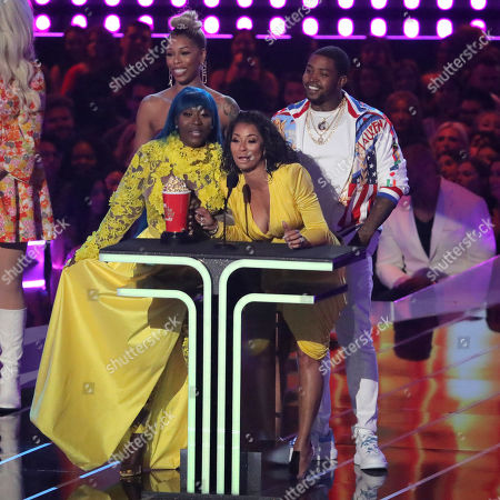 Bambi, Lil Scrappy, Spice and Karlie Redd - Reality Royalty Award - 'Love & Hip Hop Atlanta'