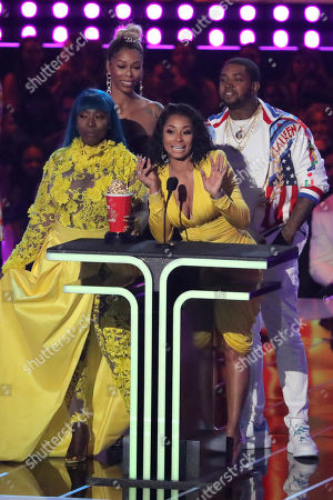 Editorial photo of MTV Movie & TV Awards, Show, Barker Hangar, Los Angeles, USA - 15 Jun 2019