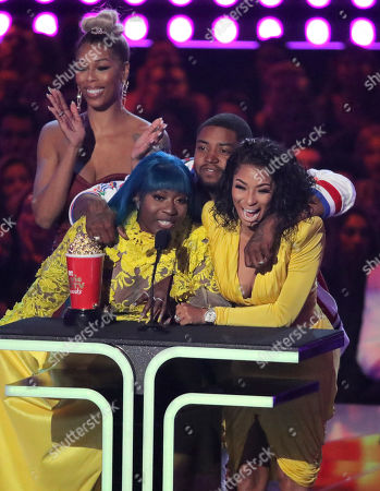 Editorial image of MTV Movie & TV Awards, Show, Barker Hangar, Los Angeles, USA - 15 Jun 2019