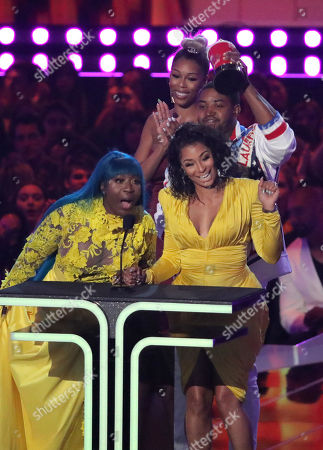Editorial picture of MTV Movie & TV Awards, Show, Barker Hangar, Los Angeles, USA - 15 Jun 2019