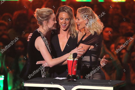Stock Picture of Brie Larson - Best Fight - 'Captain Marvel' - with Renae Moneymaker and Joanna Bennett