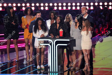 Stock Picture of Brie Miranda Bryant - Best Documentary - 'Surviving R. Kelly - presented by Jameela Jamil and Mj Rodriguez
