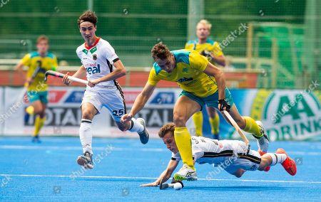 Editorial picture of FIH Pro League hockey men, Germany vs Australia, Krefeld, Germany, Deutschland - 16 Jun 2019