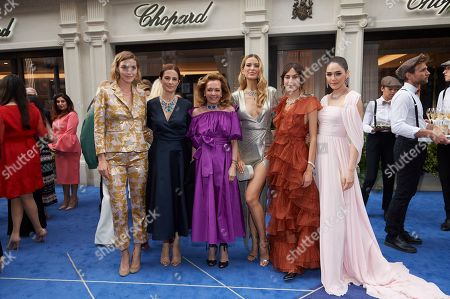 Arizona Muse, Livia Giuggioli, Caroline Scheufele, Petra Nemcova, Alexa Chung and Araya Hargate