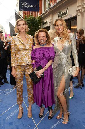Arizona Muse, Caroline Scheufele and Petra Nemcova