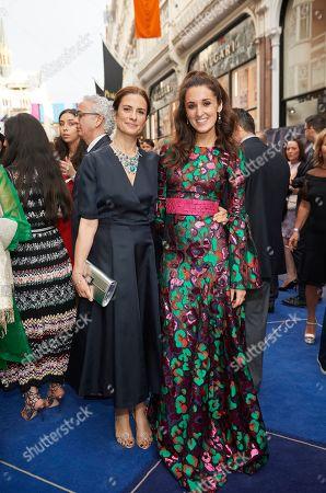 Livia Giuggioli and Rosanna Falconer
