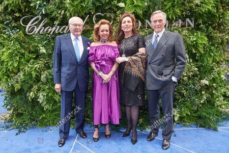Karl Scheufele, Caroline Scheufele, Christine Scheufele and Karl-Friedrich Scheufele