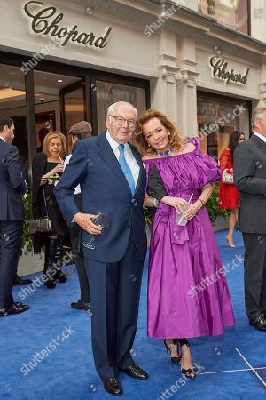 Karl Scheufele and Caroline Scheufele