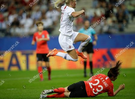 Editorial picture of Norway South Korea WWCup Soccer, Reims, France - 17 Jun 2019