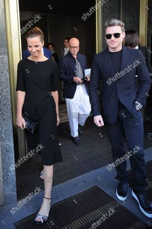 Richard Madden and Roberta Armani out and about, Milan